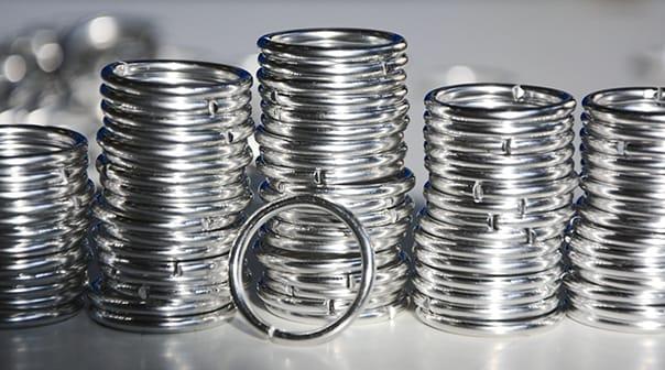 anelli argento brasatura